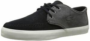 Lacoste Men's Sevrin 116 1 Fashion Sneaker, Dark Grey