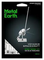 Fascinations Metal Earth Voyager Spacecraft 3D Laser Cut Steel Model Kit MMS122