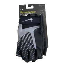Nike Dry Lightweight Mens Training Lifting Gloves Black Dri-Fit NLG38032 Size XL