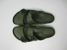 NEW Birkenstock Arizona EVA men's sandal shoe slipper waterproof Khaki 44  11 US