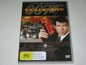 Golden Eye - James Bond - 007 - 2 Disc - Brand New & Sealed - Region 4 - DVD