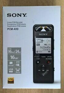 Sony PCM-A10 Bluetooth Linear  Recorder - Black