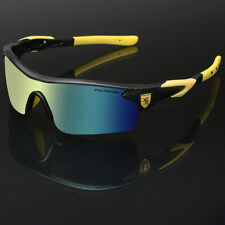 Polarized Sport Men's Cycling Baseball Golf Ski Sunglasses Mirror Lens Glasses