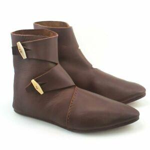 Roman boot Double Toggle Boots Viking Renaissance Medieval Shoes