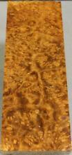 """Sindora Burl Blank: 1 1/2"""" X 4 1/2 X 12 3/8"""" This One Is Like No Other! (Sdb509)"""