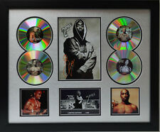 Tupac Signed Limited Edition Framed Memorabilia (s)