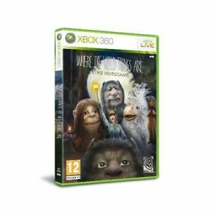 Xbox 360 - Where the Wild Things Are **New & Sealed** Xbox Series X Compatible