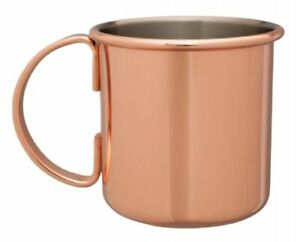Beaumont Mezclar Moscow Mule 500ml Copper Plated Mug   Cocktail Drink Glass