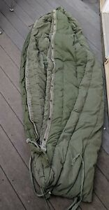 U.S. Military Army Extreme Cold Weather Mummy Sleeping Bag Down, Old Era, Heavy