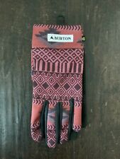 New listing Burton Touch N Go Liner Dress Maroon Stylus Glove Women's L - New