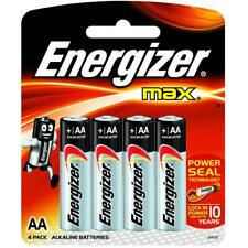 Energizer Max LR6 AA Batteries - Pack of 4 (E300112500)