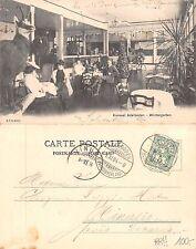 Kt. Bern - Kursaal Adelboden - Wintergarten TOP RARITAT ANIMIERT 1904 (A-L 089)