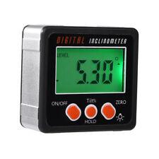 Magnetic Digital Protractor Angle Finder Bevel Level Box Inclinometer Meter Sala