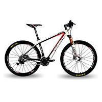 BEIOU Carbon Fiber 650B Mountain Bike 27.5inch 30 Speed SHIMANO M610 DEORE CB20B