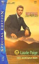 Her Montana Man by Laurie Paige (2002, Paperback) Silhouette Montana Mavericks
