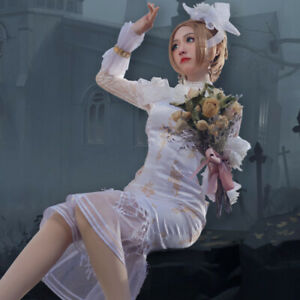 Identity V Perfumer Cosplay Costume Women Girls Vera Nair Dress Prop Halloween
