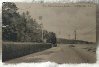 Oyster Bay Long Island New York NY Postcard 1917 Shore Road Bayville St. View