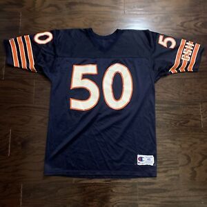 Vintage Champion Mike Singletary Chicago Bears Football NFL Jersey Mens Size 48