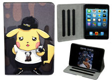 For Apple iPad Mini 1 2 3 4 Great Pokemon Pikachu Anime Smart Stand Case Cover