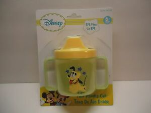 BABY Disney PLUTO Twin Handle Cup NEW ~*FREE SHIPPING*`  6+ months