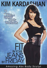 Kim Kardashian 2 Abs Upper Body Workouts Sculpt FIT YOUR JEANS FRIDAY DVD