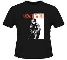 Charles Bronson Death Wish Retro Movie Black T Shirt