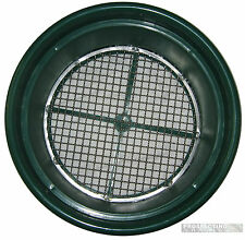 "GOLD pan Prospecting HEAVY DUTY CLASSIFIER 1/2"" Steel Mesh SIEVE"