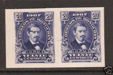Honduras Sc 124av MNG. 1907 20c imperf horiz pair, XF