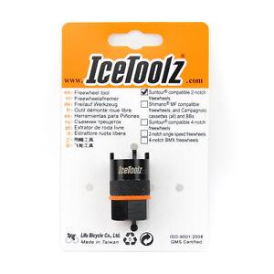 IceToolz 0903 Suntour 2-notch Freewheel Remover / Bike Bicycle Cassette Tool