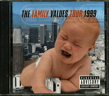 The Family Values Tour 1999 by Various Artists (CD, 2000, Flawless Records)