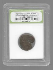 Rare Old Ancient Spanish Pirate Caribbean War Era Nice Collection Coin LOT:US-33
