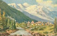 Chamounix. Mont Blanc (S. Hildesheimer and Co., Series no. 5333) 1900s