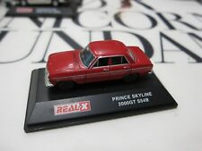 REAL-X - Scale 1/72 - Prince Skyline 2000GT S54B - RED - Mini Toy Car - C4