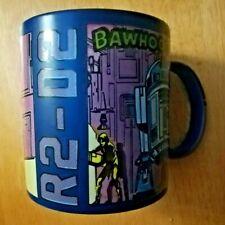 Star Wars R2D2 Blue Handle Mug Disney Store Exclusive R2 Drone Graphics