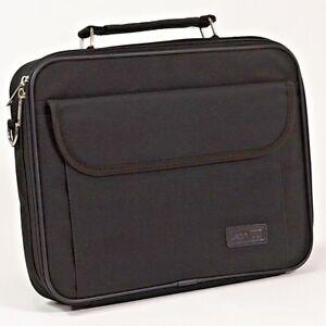 """12.1""""  Laptop Carry Case Netbook Tablet Notebook Padded Shoulder DicotaBag Black"""