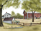 Art Print, Framed or Plaque by Billy Jacobs - Old Springhouse - BJ217
