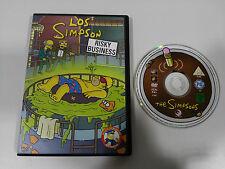 LOS SIMPSON RISKY BUSINESS DVD + EXTRAS 4 CAPITULOS ESPAÑOL ENGLISH REGION 2