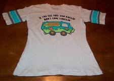 TEEN WOMEN'S VINTAGE STYLE SCOOBY-DOO The Mystery Machine T-shirt MEDIUM NEW