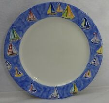 STUDIO NOVA china MAINSAIL SH302 pattern Dinner Plate - 11-1/8""