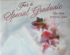 Graduation Greeting Card w/ Envelope ON HER SPECIAL DAY Hallmark - NEW