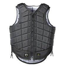 Equestrian Vest Protective Gear ADULT Ti22 Titanium Champion  Black Body