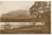 PC13560 Coniston Water and Old Man. Salmon series. RP. 1931
