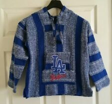 Mexican MBL LA Dodgers Baja hoodie pullover sweater size Large