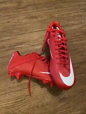 nike vapor speed cleats- size 13- red/white New!