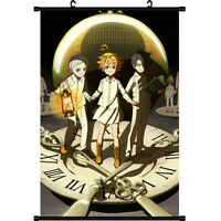 Anime The Promised Neverland Birthday Gift Wall Home Decor Scroll Poster Cosplay