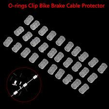 30pcs Bike Brake Cable Silicone Ring Bicycle Brake Line O-ring Bike Protec LU