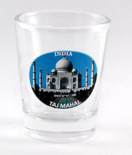 INDIA TAJ MAHAL SHOT GLASS SHOTGLASS