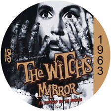 """The Witches Mirror (1963) Thriller and Horror """"B"""" NR CULT Movie DVD"""