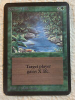 Stream of Life EX Alpha Limited Edition 1993 Original Mtg