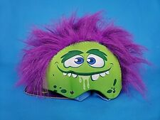 Grrr-Tastic ~ Kids Bicycle Helmet  ~ Monster Mohawk Purple Hair ~  New ~ Small